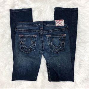 True Religion Jeans - True Religion Johnny Straight Leg Size 27